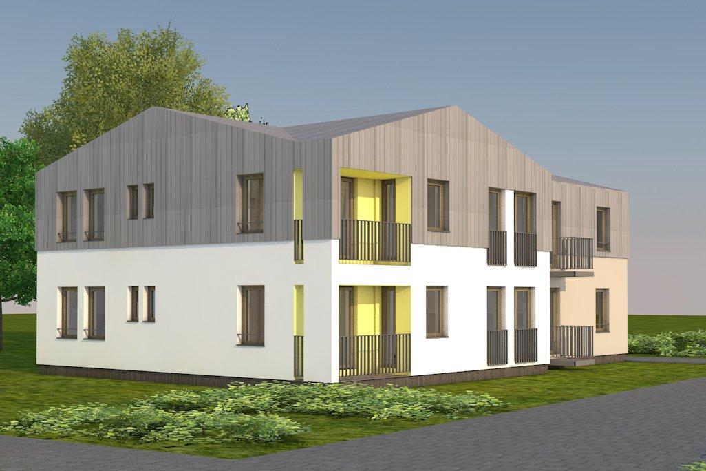 projekt bytových domov